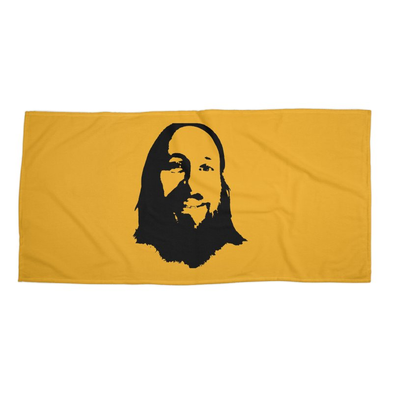 Cutter Accessories Beach Towel by 3 Beers In's Artist Shop