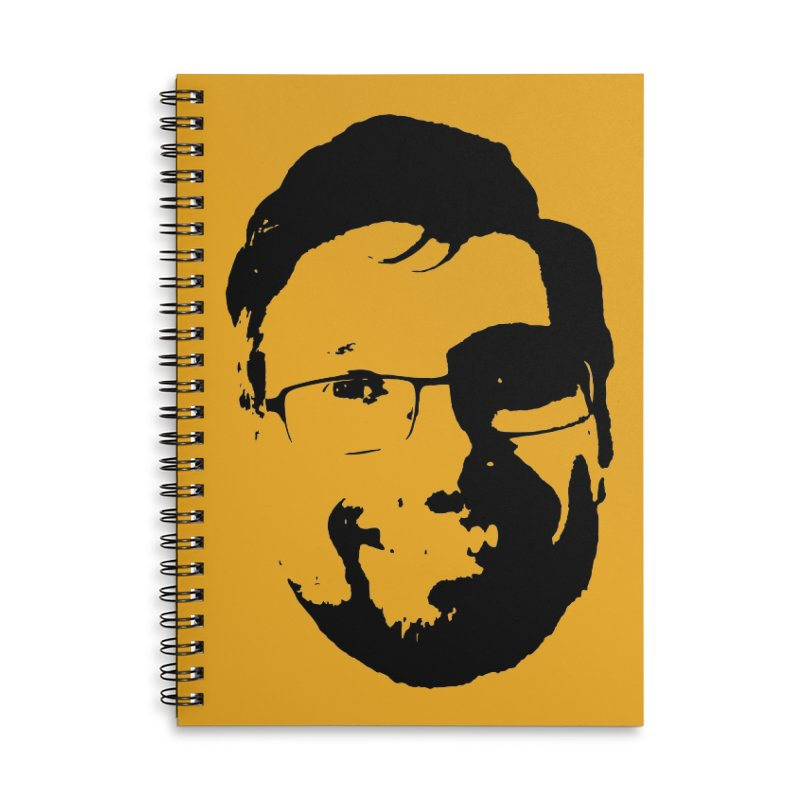 Clint Accessories Lined Spiral Notebook by 3 Beers In's Artist Shop