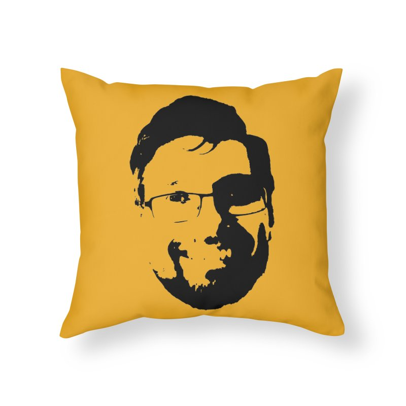 Clint Home Throw Pillow by 3 Beers In's Artist Shop