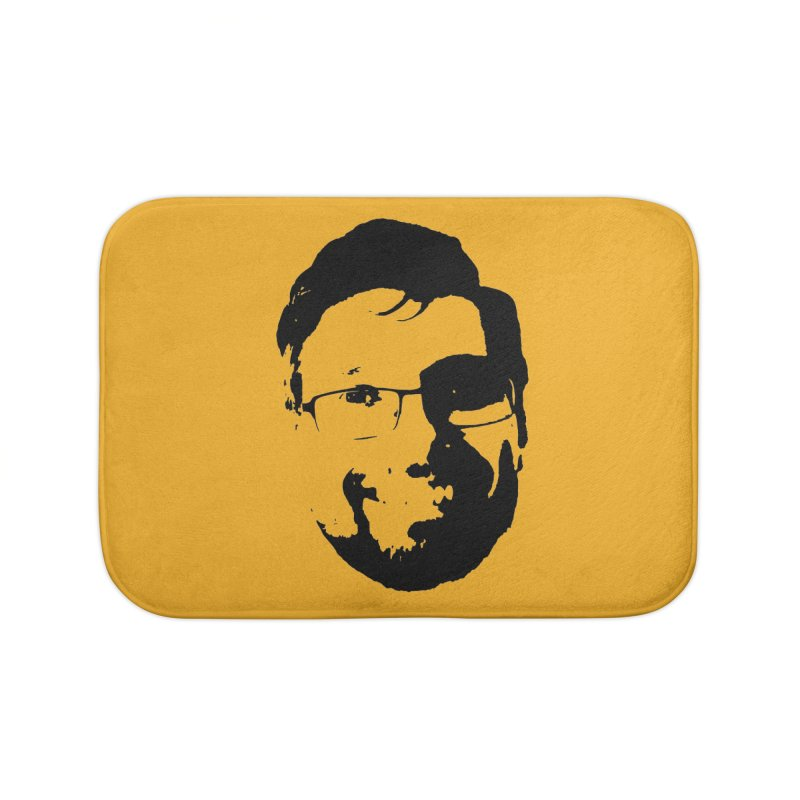 Clint Home Bath Mat by 3 Beers In's Artist Shop