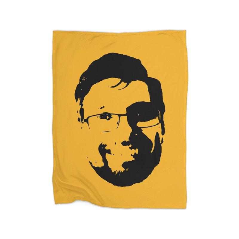 Clint Home Fleece Blanket Blanket by 3 Beers In's Artist Shop
