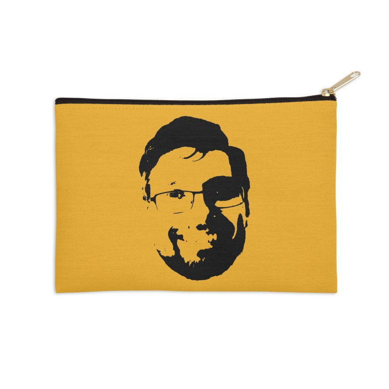 Clint Accessories Zip Pouch by 3 Beers In's Artist Shop