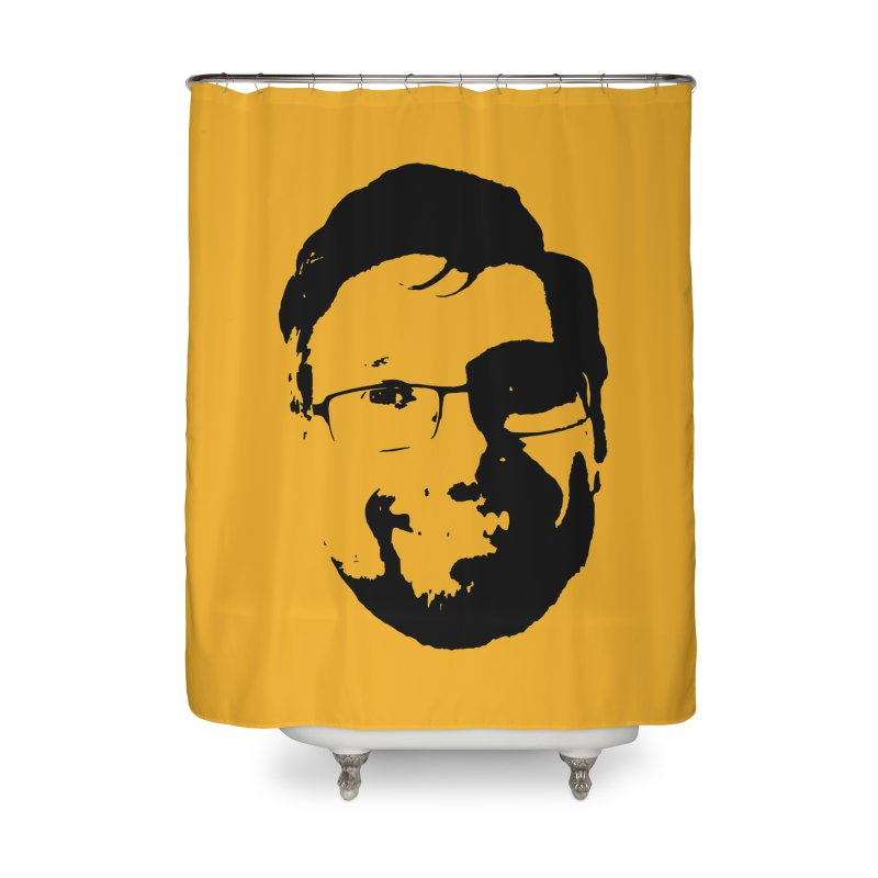 Clint Home Shower Curtain by 3 Beers In's Artist Shop