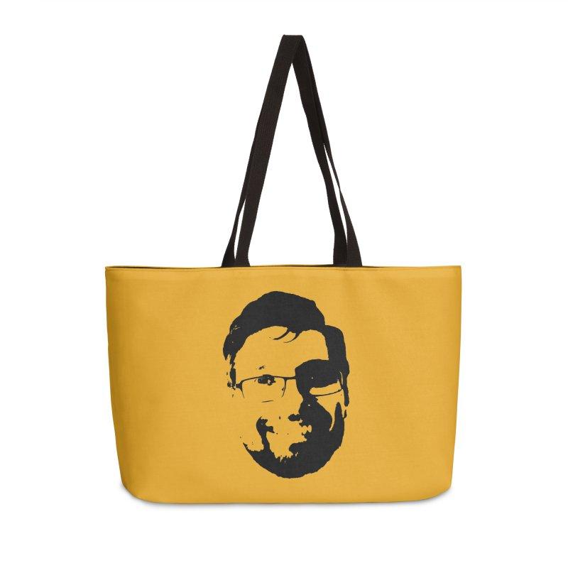 Clint Accessories Weekender Bag Bag by 3 Beers In's Artist Shop