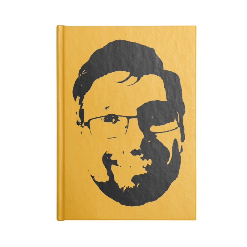 Clint Accessories Lined Journal Notebook by 3 Beers In's Artist Shop