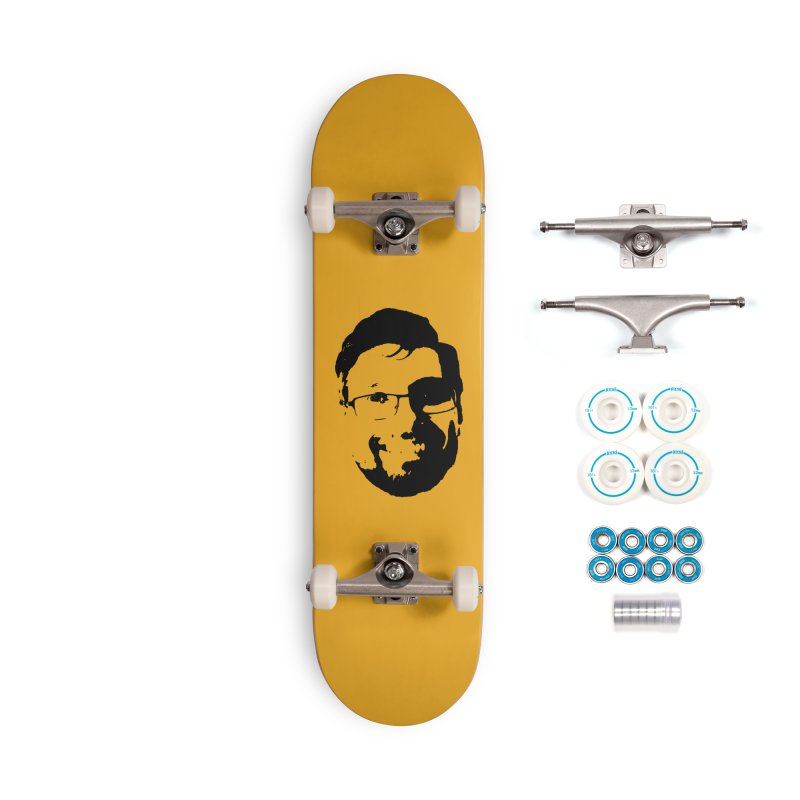Clint Accessories Complete - Basic Skateboard by 3 Beers In's Artist Shop