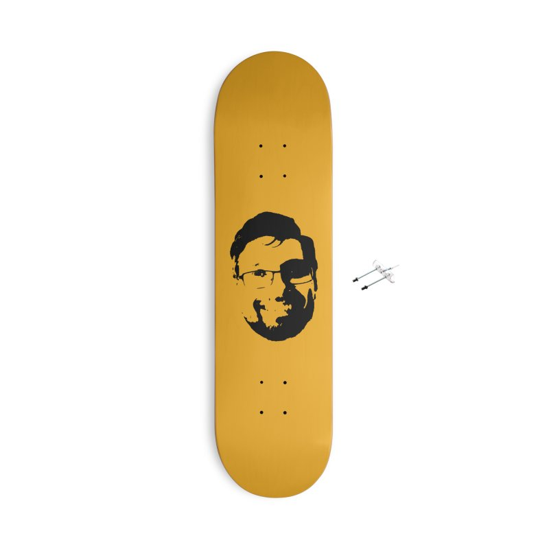 Clint Accessories Skateboard by 3 Beers In's Artist Shop