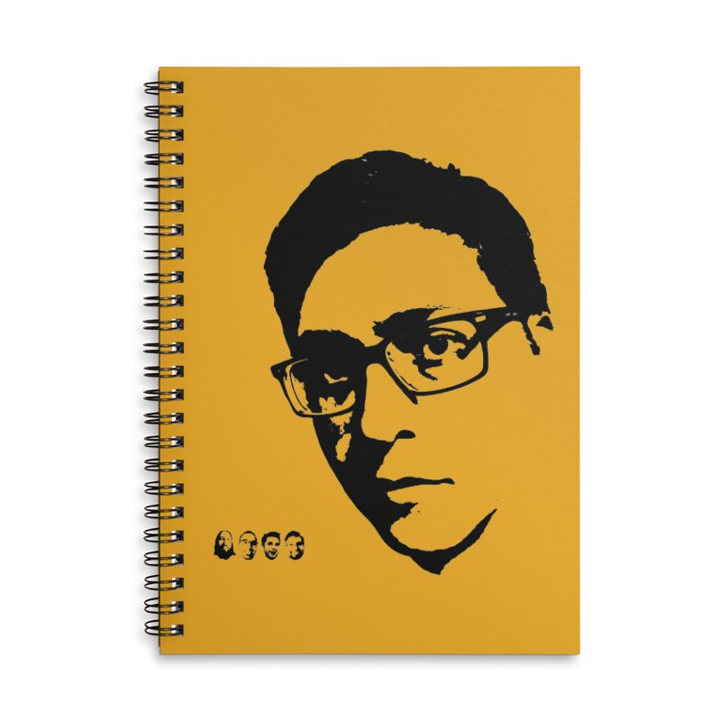 The Whole Crew Accessories Lined Spiral Notebook by 3 Beers In's Artist Shop