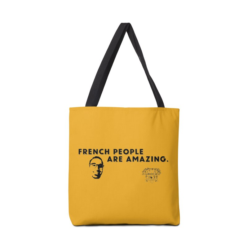 French People Accessories Tote Bag Bag by 3 Beers In's Artist Shop