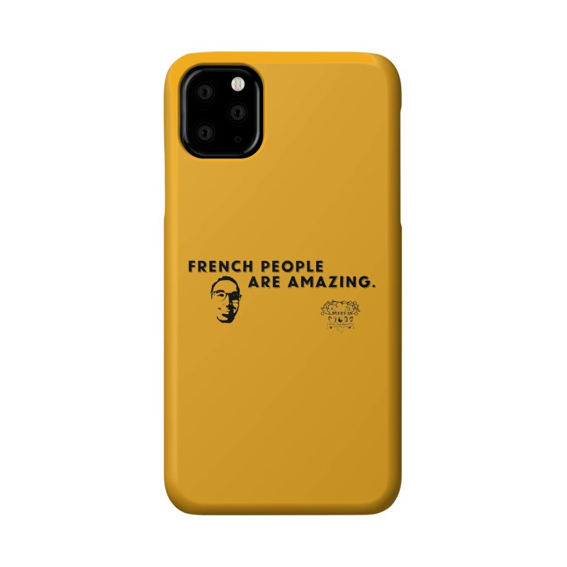 French People Accessories Phone Case by 3 Beers In's Artist Shop