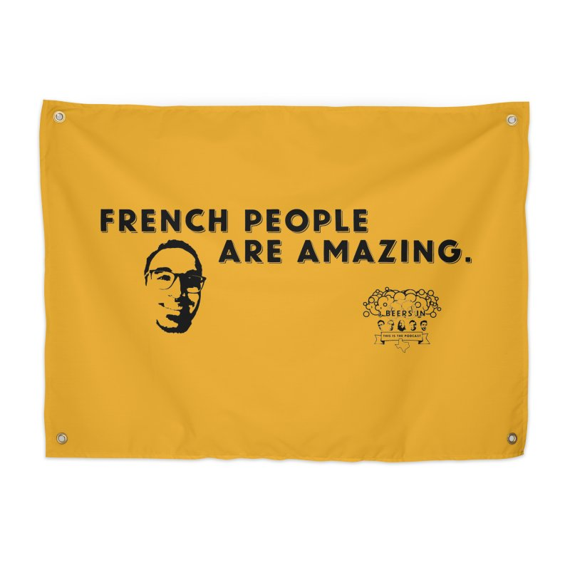 French People Home Tapestry by 3 Beers In's Artist Shop