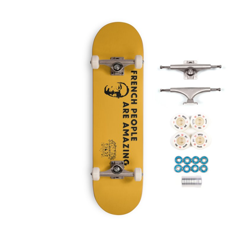 French People Accessories Complete - Premium Skateboard by 3 Beers In's Artist Shop