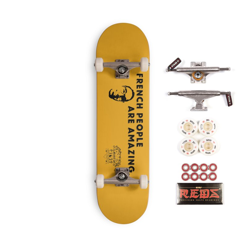 French People Accessories Complete - Pro Skateboard by 3 Beers In's Artist Shop