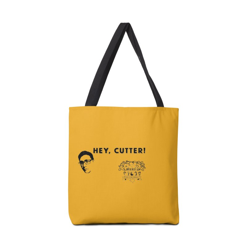 Hey, Cutter Accessories Bag by 3 Beers In's Artist Shop