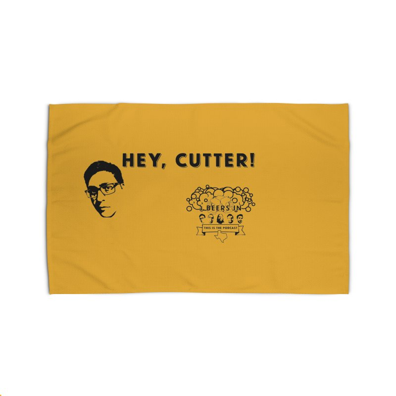 Hey, Cutter Home Rug by 3 Beers In's Artist Shop