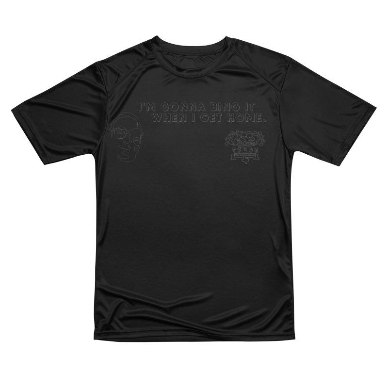 Bing! Men's Performance T-Shirt by 3 Beers In's Artist Shop