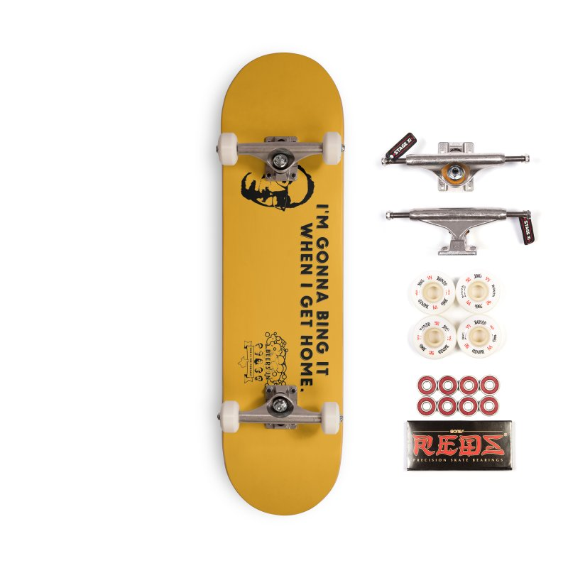 Bing! Accessories Complete - Pro Skateboard by 3 Beers In's Artist Shop