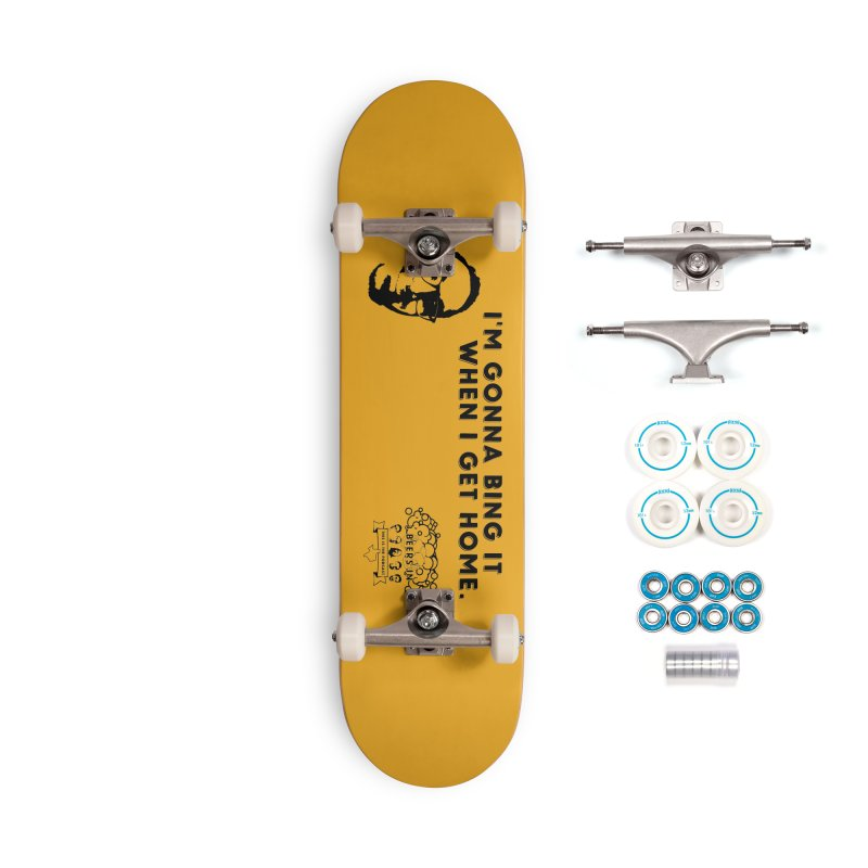 Bing! Accessories Complete - Basic Skateboard by 3 Beers In's Artist Shop