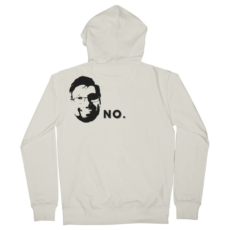 Clint Quote Men's French Terry Zip-Up Hoody by 3 Beers In's Artist Shop
