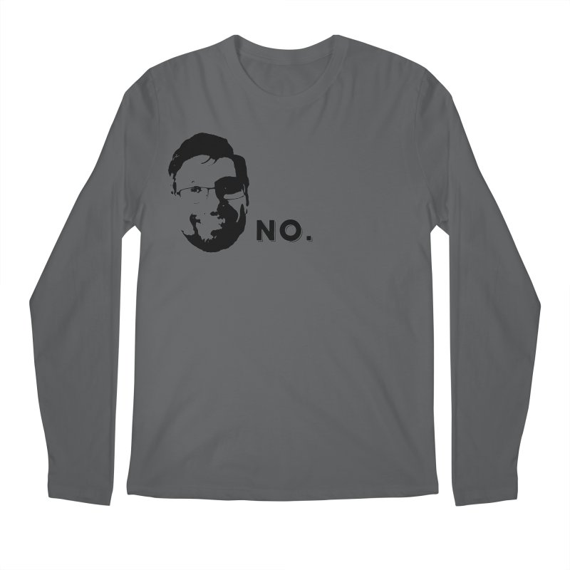 Clint Quote Men's Longsleeve T-Shirt by 3 Beers In's Artist Shop