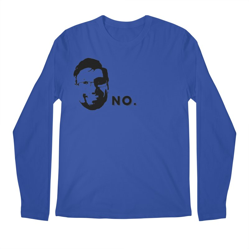 Clint Quote Men's Regular Longsleeve T-Shirt by 3 Beers In's Artist Shop