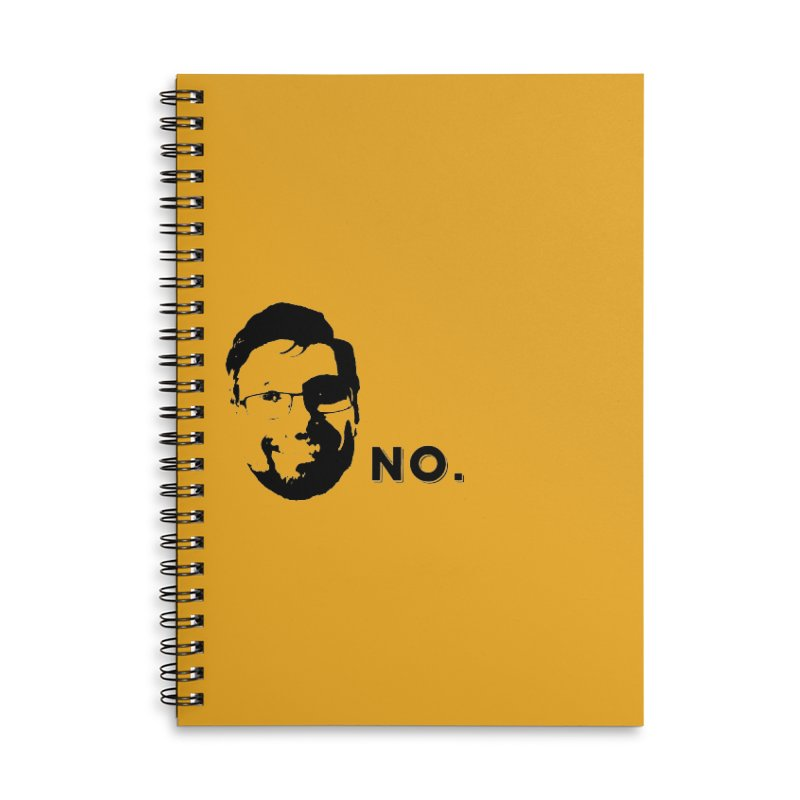 Clint Quote Accessories Lined Spiral Notebook by 3 Beers In's Artist Shop