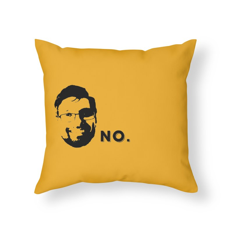 Clint Quote Home Throw Pillow by 3 Beers In's Artist Shop