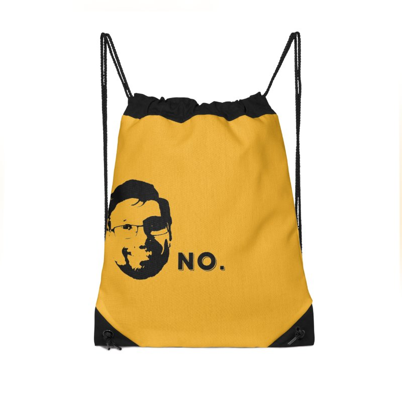 Clint Quote Accessories Drawstring Bag Bag by 3 Beers In's Artist Shop