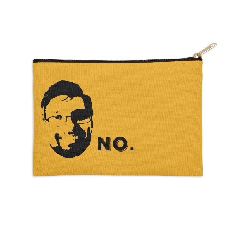 Clint Quote Accessories Zip Pouch by 3 Beers In's Artist Shop