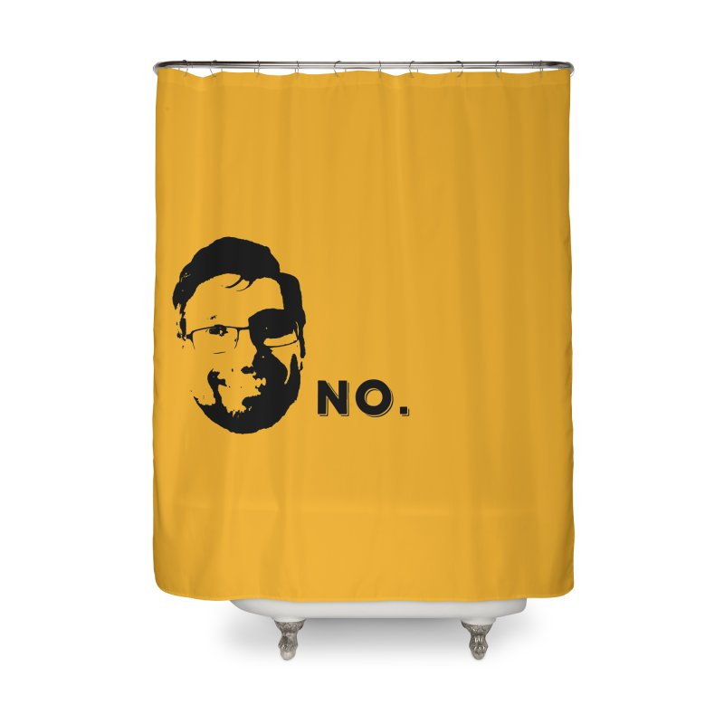 Clint Quote Home Shower Curtain by 3 Beers In's Artist Shop