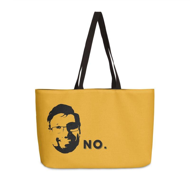 Clint Quote Accessories Weekender Bag Bag by 3 Beers In's Artist Shop