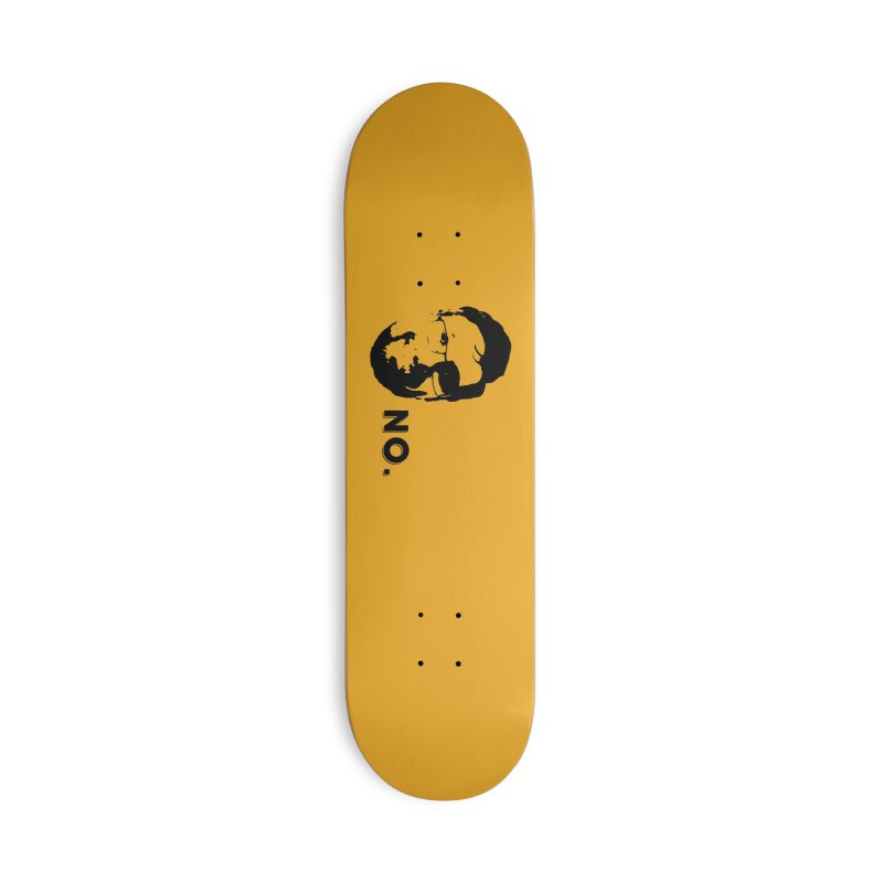 Clint Quote Accessories Deck Only Skateboard by 3 Beers In's Artist Shop
