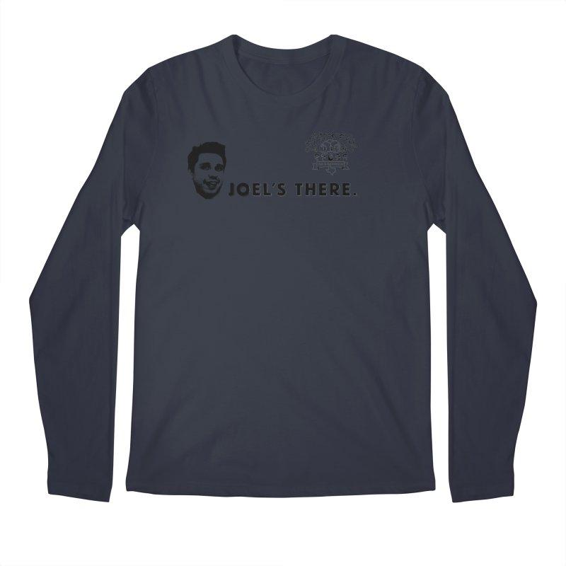 Joel's There Men's Regular Longsleeve T-Shirt by 3 Beers In's Artist Shop