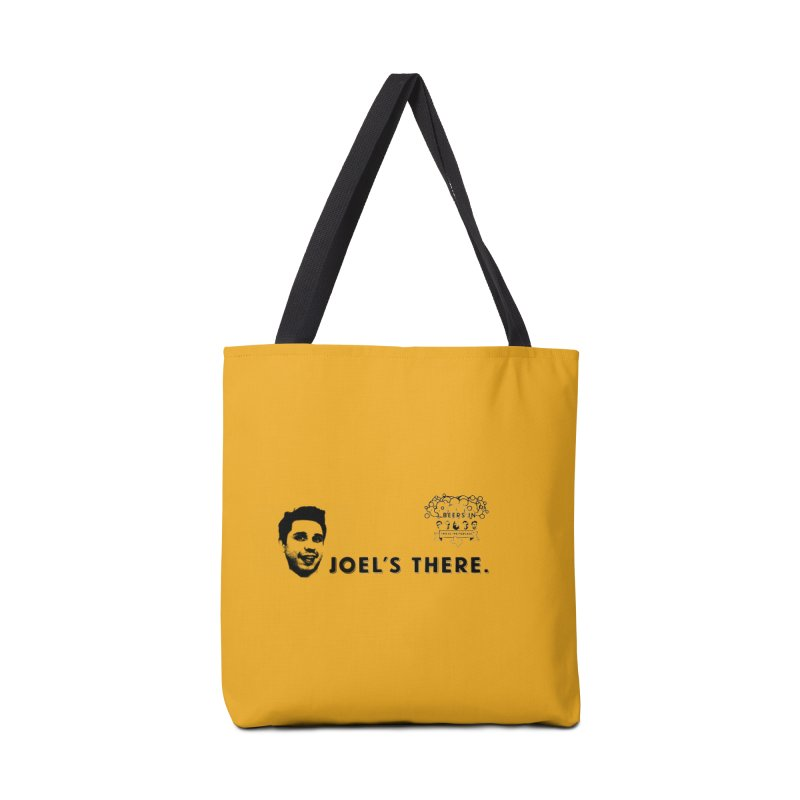 Joel's There Accessories Tote Bag Bag by 3 Beers In's Artist Shop