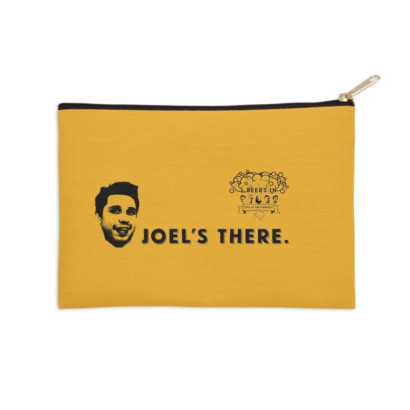 Joel's There Accessories Zip Pouch by 3 Beers In's Artist Shop