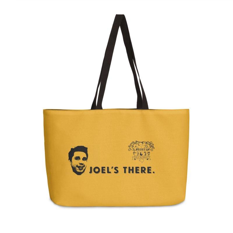 Joel's There Accessories Weekender Bag Bag by 3 Beers In's Artist Shop