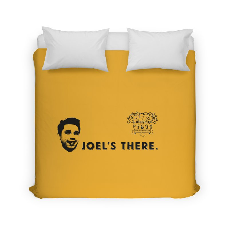 Joel's There Home Duvet by 3 Beers In's Artist Shop