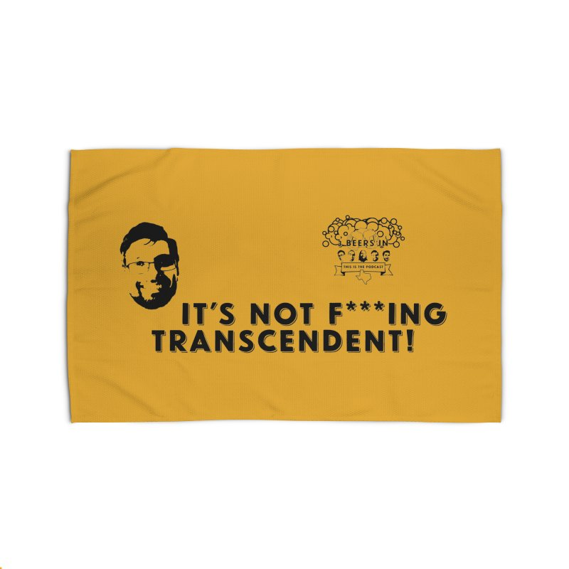 Not Transcendent Home Rug by 3 Beers In's Artist Shop