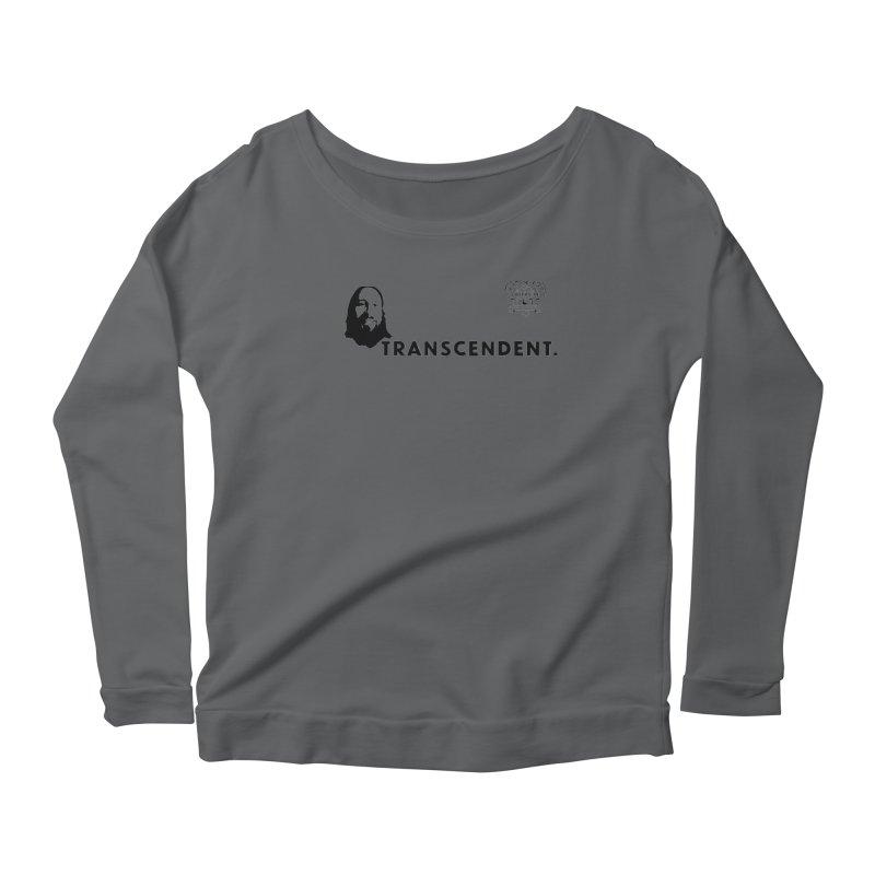 Transcendent Women's Scoop Neck Longsleeve T-Shirt by 3 Beers In's Artist Shop