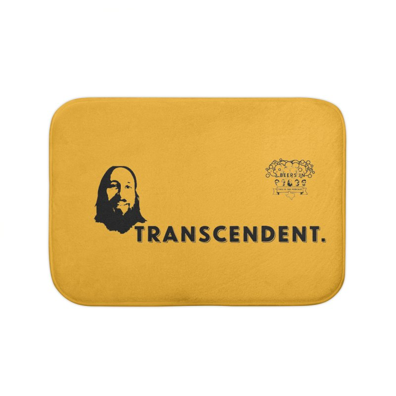 Transcendent Home Bath Mat by 3 Beers In's Artist Shop