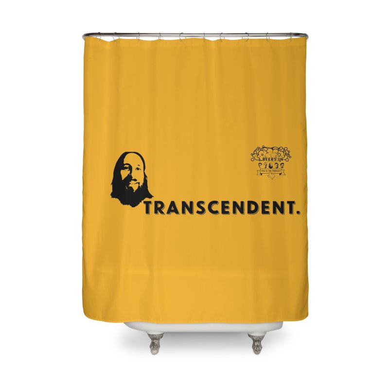 Transcendent Home Shower Curtain by 3 Beers In's Artist Shop