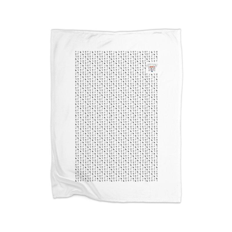 Many Uses Home Fleece Blanket Blanket by 3 Beers In's Artist Shop