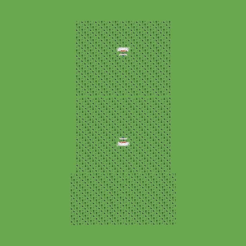 Green duffel by 3 Beers In's Artist Shop