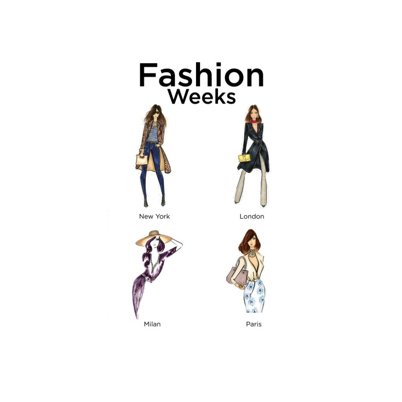 Fashion Weeks Accessories Bag by 3Cstyle's Artist Shop