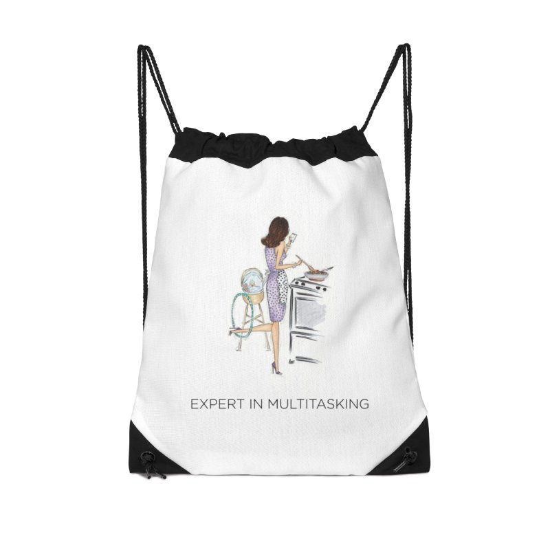 Expert in Multitasking Accessories Bag by 3Cstyle's Artist Shop