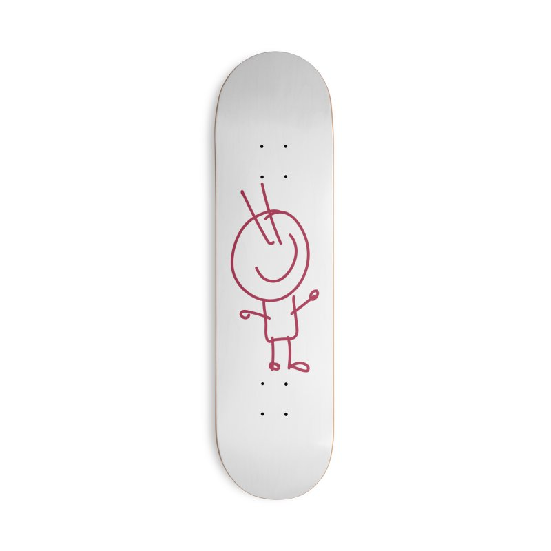 Spiky Accessories Skateboard by 3R Teacher Training's Shop