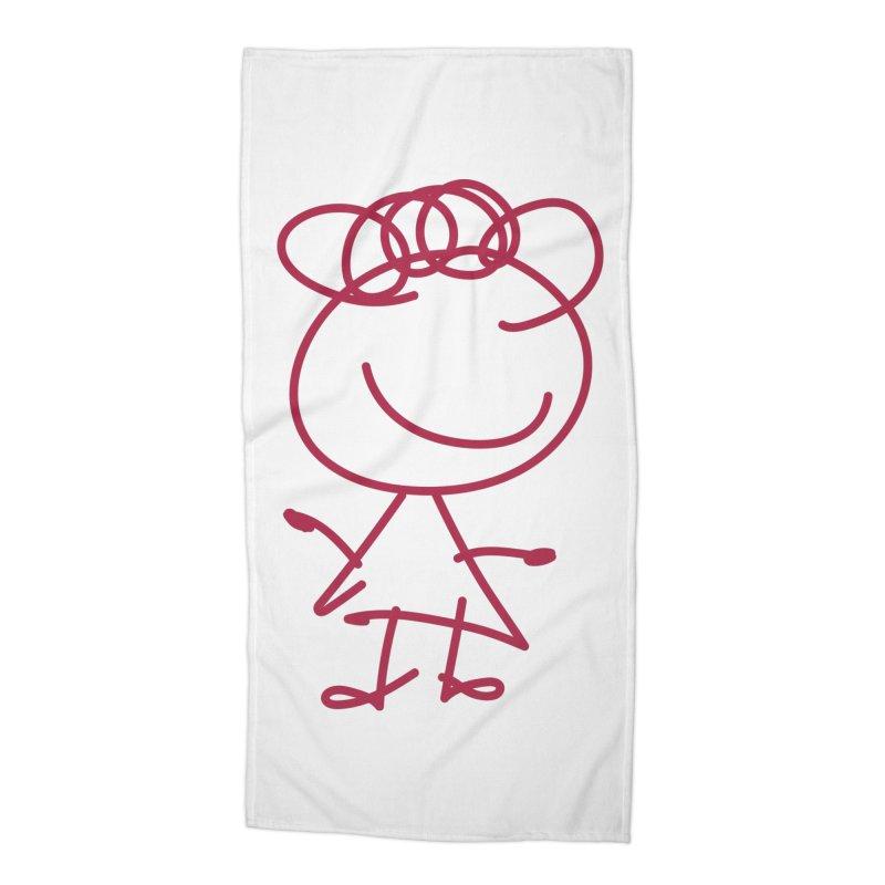 Curly Accessories Beach Towel by 3R Teacher Training's Shop