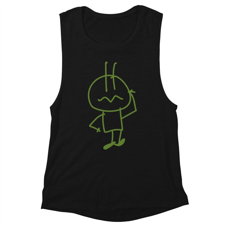 Confused Spiky Women's Tank by 3R Teacher Training's Shop