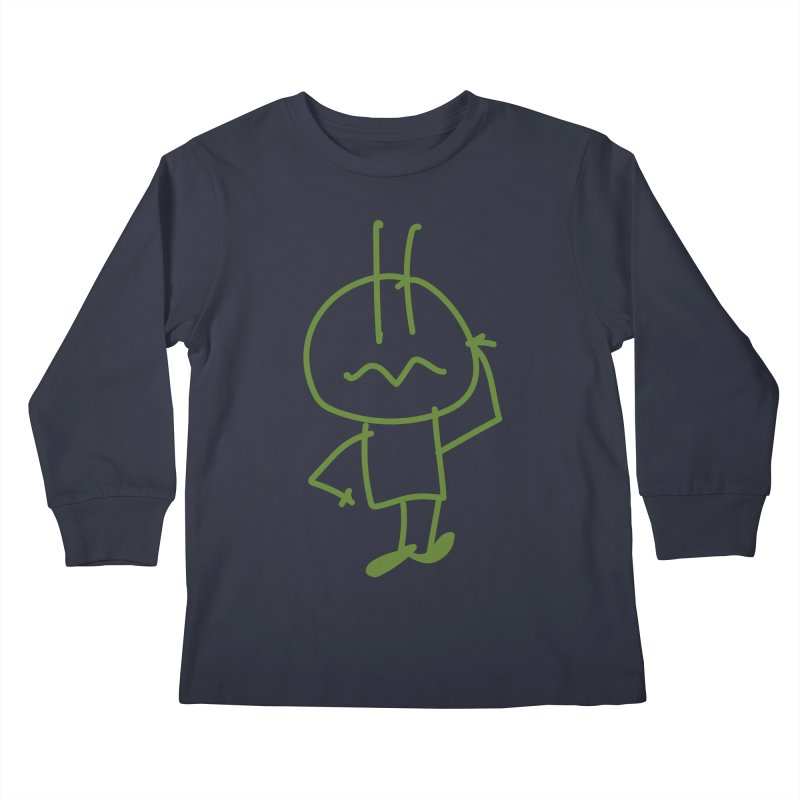 Confused Spiky Kids Longsleeve T-Shirt by 3R Teacher Training's Shop