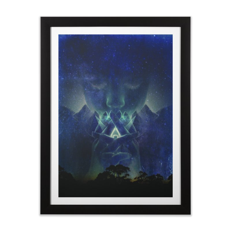 Night Home Framed Fine Art Print by 3abylon
